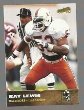 RAY LEWIS MIAMI HURRICANES RAVENS 1996 SCOREBOARD SP ROOKIE CARD #139