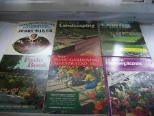 6 Lawn Garden Plant Books Sunset Landscaping Patio Gardening Books + Housplants