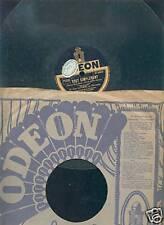 78 T Odeon :  Berceuse Bleue / Tout simplement  -  Bon Etat