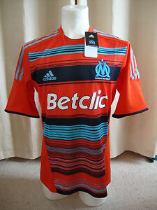Olympique Marseille 2011-12 Formotion Player Issue 3rd Shirt By Adidas BNWT (L)