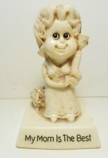 Russ Berrie 1976~My Mom is The Best~Resin Figurine-USA Made-Gift for Mother