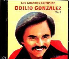 """ODILIO GONZALEZ- """"GRANDES EXITOS VOL.4""""  - CD"""