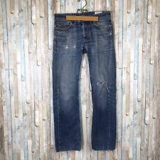 Diesel sz 29 Viker R Box Medium Vintage Blue Wash Distressed Straight Leg Jeans