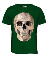 Géométrique Crâne Hommes T-Shirt Haut Giftpolygon Crâne