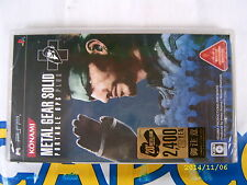 PSP GAME METAL GEAR SOLID PORTABLE OPS PLUS (ORIGINAL BRAND NEW)