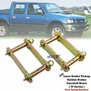"""Lift 2"""" Rear Greasable Shackle For Isuzu Pickup Chevrolet LUV TF Series 1988-02"""