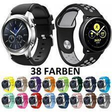 Armband 22mm Samsung Galaxy Watch 3 46mm 45mm Gear S3 Frontier Cl Silikon Sport