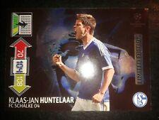 Panini Champions league 12/13 Limited Edition Huntelaar S04 Sammelkarte Fussball