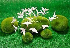 10 Pcs Miniature Dollhouse Fairy Garden Accessories Terrarium Tiny Egret Bird #2