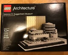 Lego 21004 Architecture Solomon R Guggenheim Museum Retired New 208pcs
