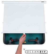 OCEANAIR Skyshade Cabinshade White Roller Blind 470 x 510mm. Hatches Portlight