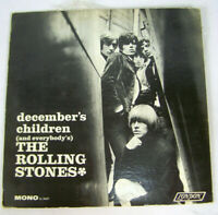 1965 Rolling Stones December's Children LP Record Vinyl London LL 3451 VG vinyl