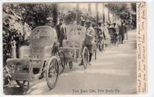 PALM BEACH CABS, PALM BEACH: Florida USA postcard (C38507)