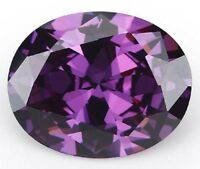 Romantic 19.26ct AAAAA Purple Amethyst 13x18mm Diamonds Cut Oval VVS Loose Gems