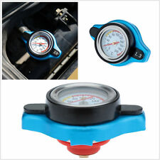 Blue Small Head 1.3 Bar Thermost Radiator Cap Cover Water Temperature Gauge