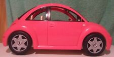 2000 Barbie Pink VW Volkswagen Bug Beetle very good + condition with all sticker