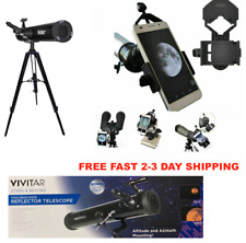 "525X TELESCOPE +57"" TRIPOD LUNAR AND FOR STAR OBSERVATION +ADAPTER FOR IPHONE"