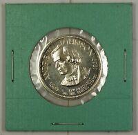 Andrew Johnson Presidential Commemorative Sterling Silver Medalette