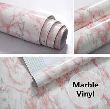 Pink Marble Vinyl Wrap Furniture Protective Vinyl Film Waterproof Film Wallpaper