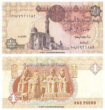Egypt 1 Pound 2004 Replacement (Prefix 600) Banknotes  UNC