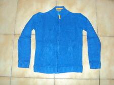 908cc647f2577 Pulls et cardigans gilet bleu pour garçon de 2 à 16 ans en 100 ...