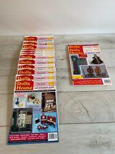More details for vintage dolls house & miniature scene magazines 14 copies 1990s job lot freepost
