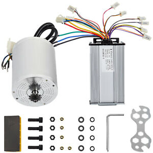 Brushless Electric Motor Controller 60V 2000W BLDC efficiency scooter motorcycle