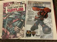 TMNT #13 HOW TO DRAW #1 MFG ERROR VARIANT LOT NM MIRAGE EASTMAN LAIRD 1986 1994