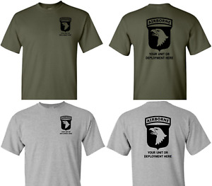101st Airborne Division T-Shirt Custom US ARMY