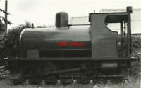 PHOTO  BARCLAY FIRELESS 14 0-4-0 NO 1473 OF 1916 USED IN THE SEVERN REFINARY AS