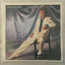 "7"" David Cassidy - Romance (ARISTA 1985) VG+"