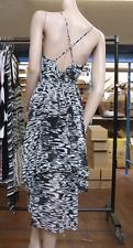 Joseph Ribkoff UK 10 BNWT Fabulous Flowy Black+White Elegant Strappy Dress US 8
