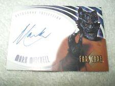 Farscape Autograph Card Mark Mitchell as Mu-Quillus