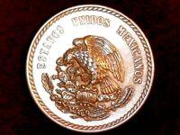 MEXIQUE 5 Pesos 1948 (ARGENT) Buste de Cuauhtemoc Mexico - SPL++/pr.FDC