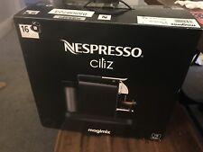 Magimix Nespresso Citiz Coffee Machine Black Brand New - Unwanted Xmas Gift