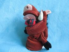 Disney Store Exclusive The Lion King - Pumbaa Hand Puppet Glove Soft Toy 10""