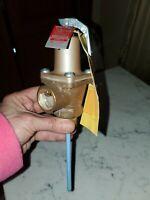 "NEW Watts Regulator 40XL-5  Bronze Temperature And Pressure Relief Valve,  3/4"""