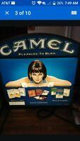 Vintage Camel Cigarette  Light Up Sign