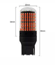 2X BAU15S 144SMD Amber LED Canbus Turn Signal Indicator Light Bulbs 12V UK STOCK