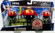 "Sonic The Hedgehog 4""  Dr Eggman W Eggobos 20th Anniversary  New Toy Exclusive"
