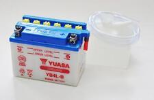 BATTERIA YB4L-B YUASA ORIGINALE CON ACIDO PER SCOOTER 50cc