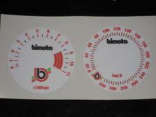 Bimota KB1 Dekor-Satz für Instrumente