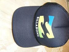 MENS BILLABONG NAVY BLUE BASEBALL CAP WITH LOGO