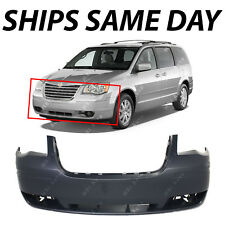 NEW Primered - Front Bumper for 2008-2010 Chrysler Town & Country W/out HL Wash