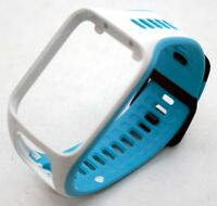 NEW OEM TomTom Slim Watch Strap SMALL Scuba Blue + White Spark 3/Runner 2 Band