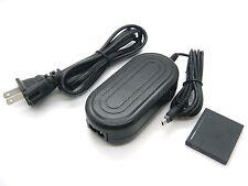 AC Power Adapter DMW-AC5 + DMW-DCC10 DC Coupler For Panasonic DMC-FS45 DMC-FT20