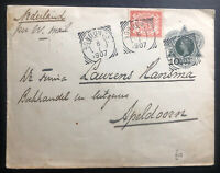 1907 Bondowcs Netherlands Indies Postal Stationery Cover To Apeldoorn Holland
