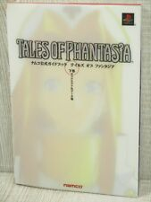 TALES OF PHANTASIA Namco Official Guide 2 Play Station Book NM*