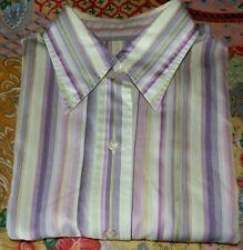 T M Lewin Ladies Striped Blouse  Size 10