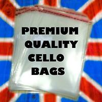 A3 A4 C5 A5 A6 CLEAR CELLO CARD BAGS CELLOPHANE SMALL LARGE BAG CARDS SEAL PARTY